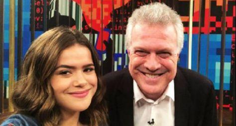 Pedro Bial irá ao SBT gravar o Programa da Maisa