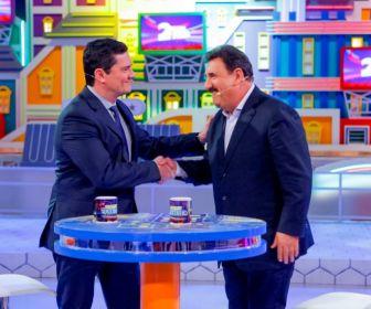 Ratinho recebe o Ministro da Justiça Sérgio Moro nesta terça-feira (18)