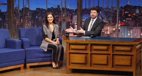 Danilo Gentili entrevista Paloma Bernardi no The Noite desta terça-feira (25)