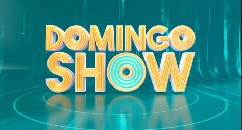 "Record TV divulga a nova logomarca do ""Domingo Show"""