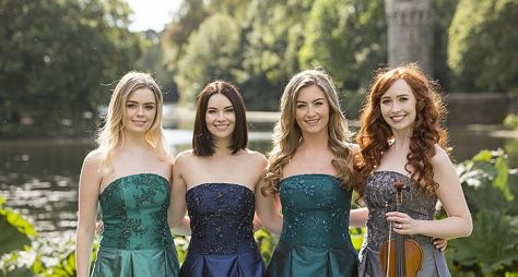 """Música na Band"" exibe show do grupo Celtic Woman"