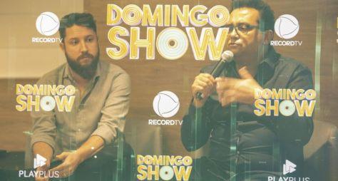 """Os detalhes do novo formato do """"Domingo Show"""""""