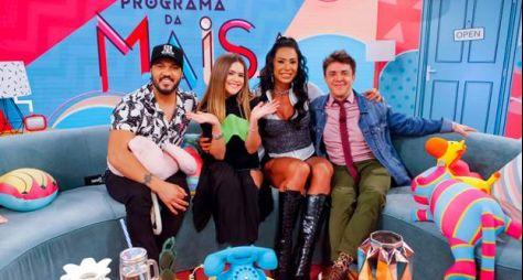 Maisa recebe o casal Belo e Gracyanne em seu programa neste sábado (6)