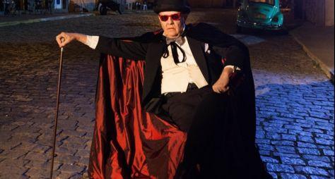 """Ney Latorraca revive o conde Vlad, da novela 'Vamp', em """"Cine Holliúdy"""""""