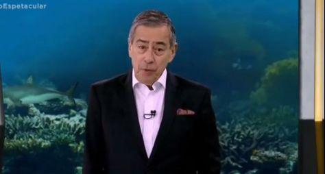Domingo Espetacular apresenta homenagem especial a Paulo Henrique Amorim