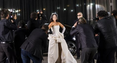 Paolla Oliveira comenta sobre a cena do casamento de Vivi com Camilo