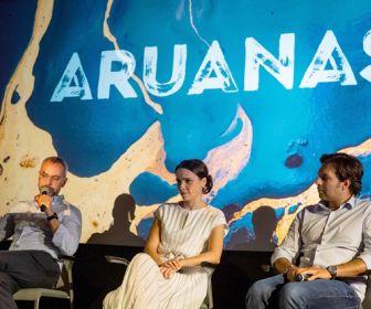 """Debora Falabella participa do lançamento de """"Aruanas"""" em Portugal"""