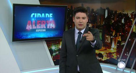 Bruno Peruka cobrirá às férias de Luiz Bacci no Cidade Alerta