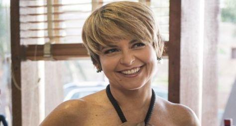 """Cláudia Abreu grava cenas da série """"Desalma"""", do GloboPlay"""