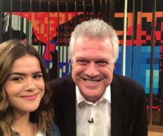 Liberado pela Globo, Pedro Bial vai aos estúdios do SBT