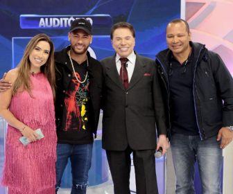 Silvio Santos recebe Neymar no 'Jogo das 3 Pistas' deste domingo (21)