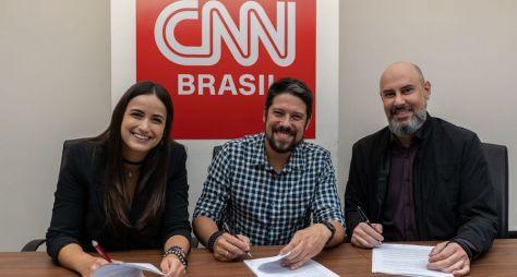 Oficial: Mari Palma e Phelipe Siani serão apresentadores na CNN Brasil