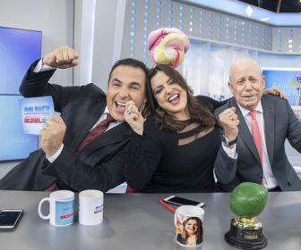 """Quadro """"A Hora da Venenosa"""" comemora um ano à frente da TV Globo"""