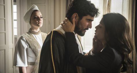 Órfãos da Terra: Dalila e Jamil se casam em cerimônia grandiosa