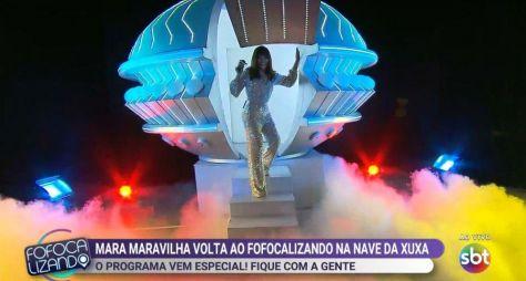 Retorno de Mara Maravilha não altera a audiência do Fofocalizando