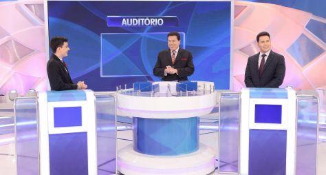 Dudu Camargo e Marcão do Povo participam do Programa Silvio Santos