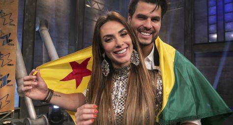 Nicole Bahls e Marcelo Bimbi vencem a quarta temporada do Power Couple Brasil