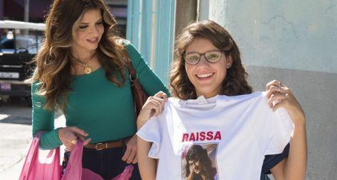 Toda Forma de Amar: Carla apoia participação de Raíssa em programa de música