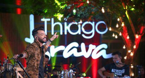 """""""Música na Band"""" exibe show de Thiago Brava"""