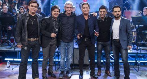 """Altas Horas recebe sertanejos que voltam com o projeto """"Amigos"""""""