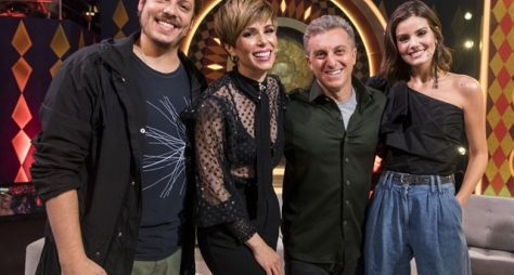 """Ana Furtado, Camila Queiroz e Fábio Porchat estreiam no júri do """"Gonga la gonga"""""""