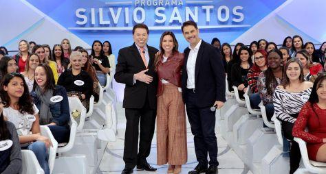 Silvio Santos recebe Luciano Hang e Sylvia Design neste domingo (11)