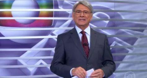 Globo atende pedido de Sérgio Chapelin, que opta pela aposentadoria