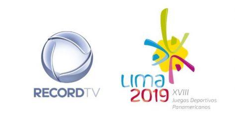 Record TV mantém exclusividade sobre os Jogos Pan-Americanos