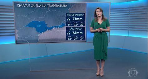 TV Globo ainda não definiu quem substituirá Maju na Previsão do Tempo