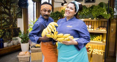 """Fabiana Karla e Luis Miranda no quadro """"Minha Mãe Cozinha Melhor que a Sua"""""""