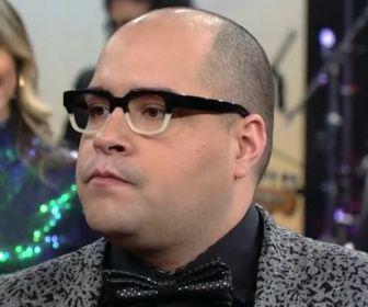 """Tiago Abravanel grava piloto e chamada do """"Famílias Frente a Frente"""""""