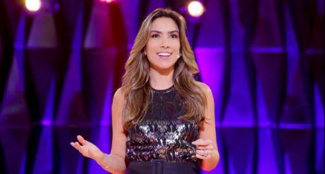 Patrícia Abravanel estreia à frente do Topa ou Não Topa em 3º na audiência