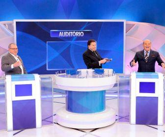 Silvio Santos reúne Marcelo de Carvalho e Sidney Oliveira neste domingo (18)
