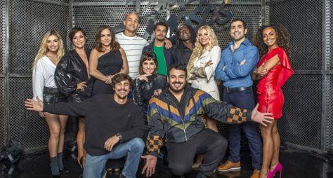 """Competidores da 16ª edição do """"Dança dos Famosos"""" são apresentados por Faustão"""