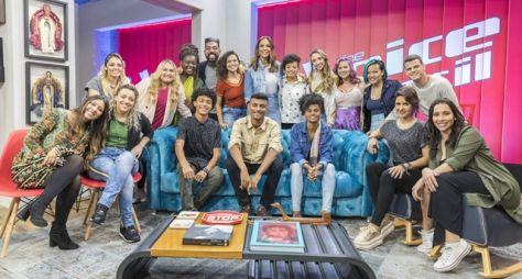 "Jurados comentam sobre a nova fase do ""The Voice Brasil"""