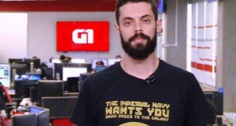 """Cauê Fabiano deixa o G1 em 1 minuto para ser repórter do """"Mais Você"""""""