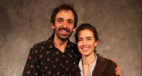 Globo quer descansar as imagens de Marjorie Estiano e Júlio Andrade