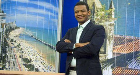 Márcio Bonfim, de Pernambuco, apresentará o JN neste sábado (31)
