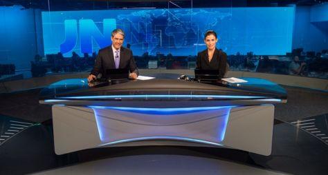 Apresentadores de todo o Brasil na bancada do Jornal Nacional