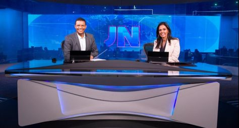 """Márcio Bonfim e Cristina Ranzolin apresentam o """"Jornal Nacional"""" neste sábado"""