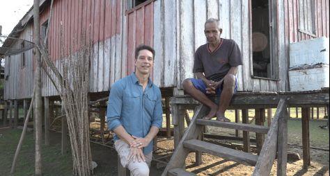 Sergio Aguiar estreia na reportagem com série sobre a Amazônia