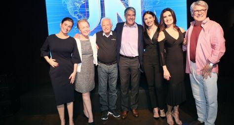 Celebração dos 50 anos do JN reúne grandes nomes do jornalismo nacional