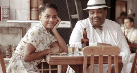 Lucélia e Domingos: ela, a voz da razão; ele, a voz do samba