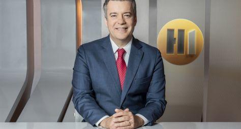 """Roberto Kovalick estreia como apresentador do """"Hora Um"""" na segunda-feira"""