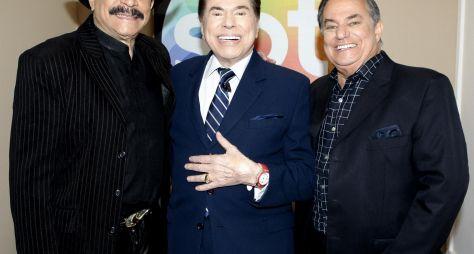 Silvio Santos recebe Ronnie Von e Eduardo Araújo em seu programa deste domingo