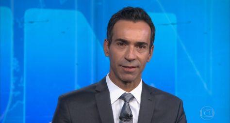 César Tralli pode trocar TV Globo pela CNN Brasil
