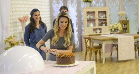 Confeiteiros criam 'busto de joias' no Bake Off Brasil deste sábado (14)