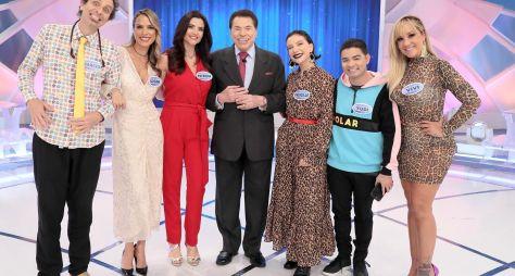 Programa Silvio Santos recebe Priscilla Alcantara e Yudi Tamashiro