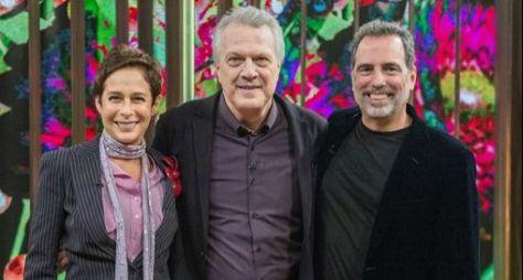 """Andréa Beltrão e Maurício Farias são os convidados do """"Conversa com Bial"""""""