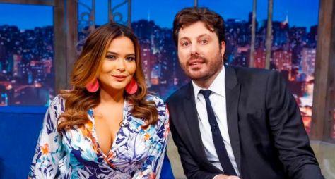 Geisy Arruda é a entrevistada desta terça no The Noite com Danilo Gentili